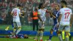 Göztepe-Eskişehirspor maçı yarıda kaldı