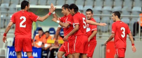 A2 Milli Futbol Takımı Fark Attı