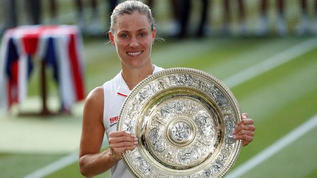 Wimbledon'da şampiyon Kerber