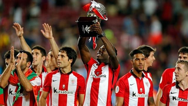 Süper Kupa Bilbao'nun!