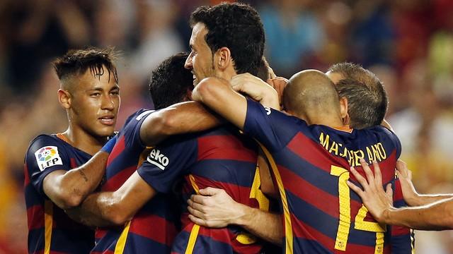 Barça'dan yine tek kurşun