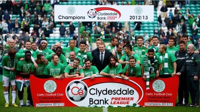Celtic Şampiyon!