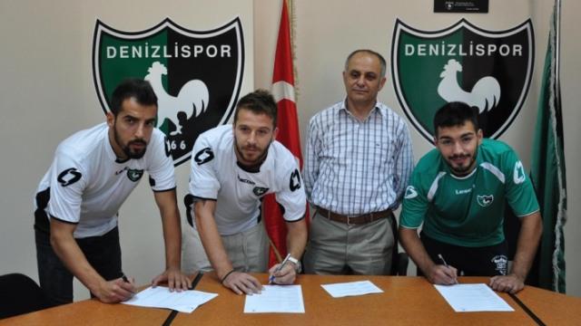 Denizlispor'da İmzalar Atıldı