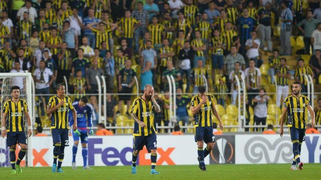 Fenerbahçe hüsrana uğradı