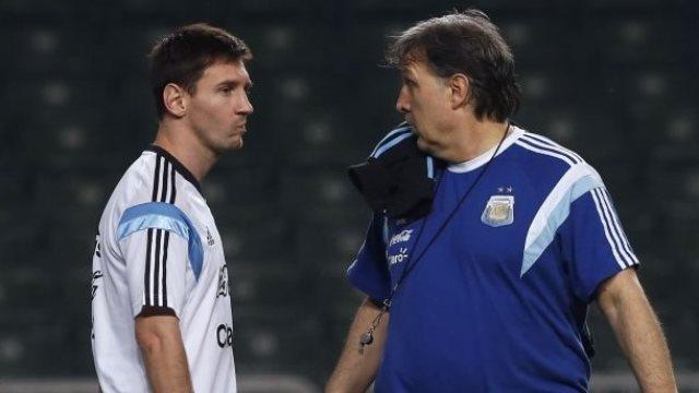Messi için ayrılık açıklaması