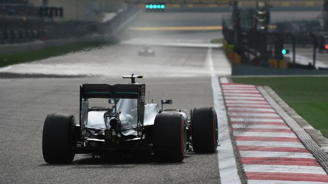 Çin'de pole pozisyonu Rosberg'in