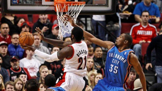 Thunder'ı Durant Taşıdı
