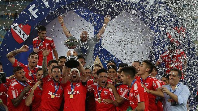 Sudamericana şampiyonu Arjantin'den
