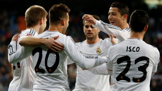 Real Madrid'de çifte rekor