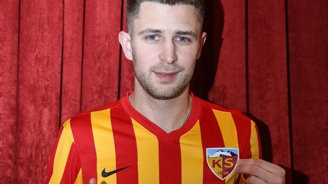 Kayserispor'a Ukraynalı golcü