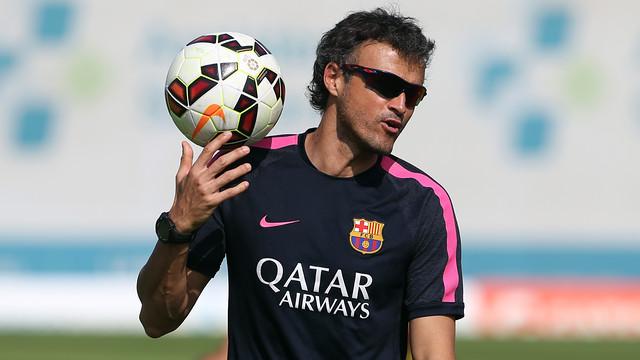 Enrique: Messi tarihin en iyisi