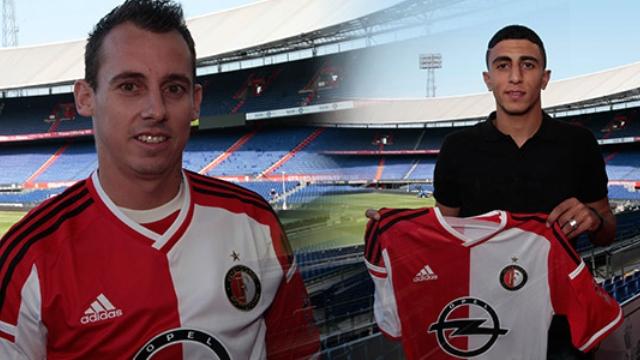 Feyenoord'dan iki transfer