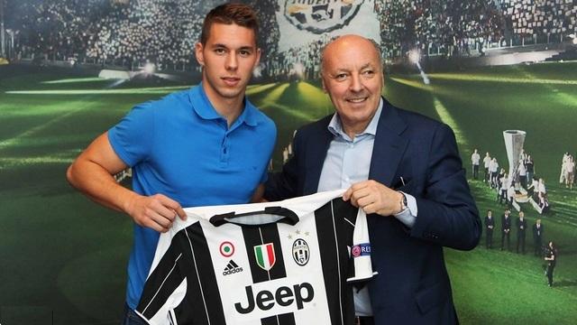 Hırvat yıldızı Juventus kaptı