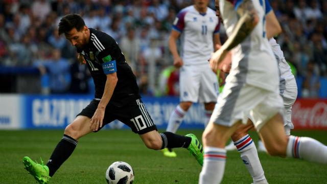 Arjantin, İzlanda duvarını aşamadı