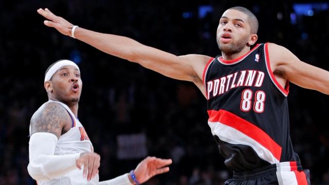 Knicks Evinde Portland'a Takıldı