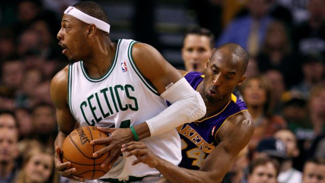 Celtics'i Pierce Sırtladı