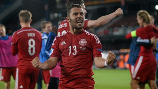 Galatasaray'a Danimarkalı sol bek
