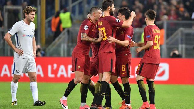 Roma, Chelsea'yi parçaladı!