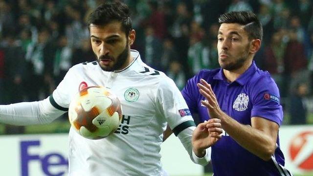 Konyaspor, Marsilya'yı elinden kaçırdı