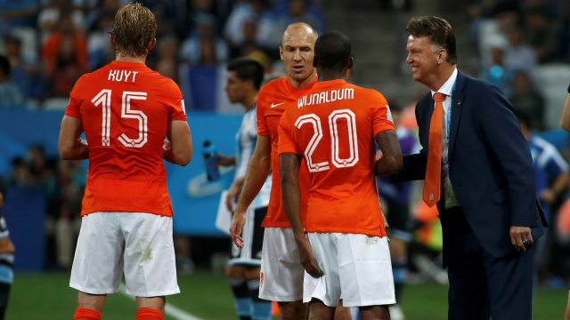 Van Gaal: Penaltıyı atmak istemediler