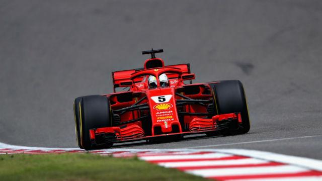 Çin'de pole pozisyonu Vettel'in