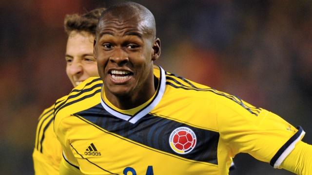 Roma'ya Kolombiyalı golcü