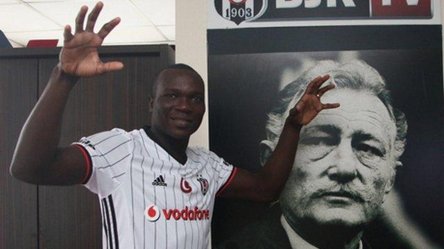 Aboubakar Galatasaray'a karşı ilk 11'e