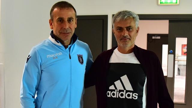 Mourinho'dan Başakşehir'e ziyaret