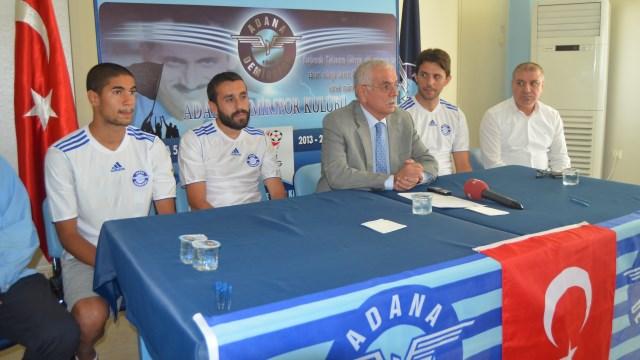 Adana Demirspor'da 3 imza