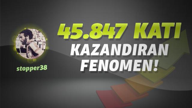 45.847 katı kazandıran fenomen!