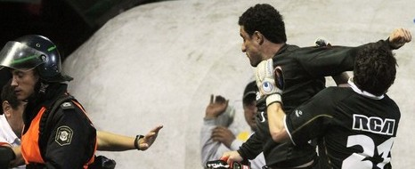 Libertadores?te Olaylı Maç