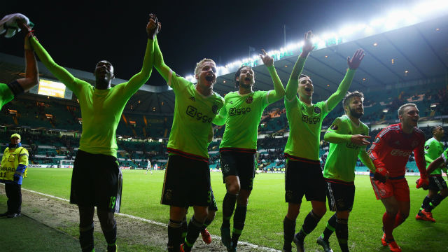 Ajax umutlarını son maça taşıdı