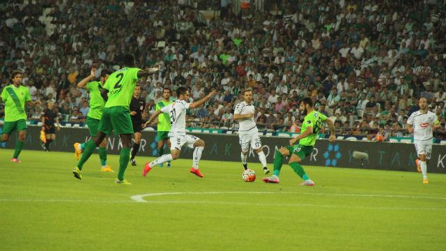 Konya'da puanlar paylaşıldı