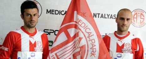 Antalyaspor'da Çifte Transfer