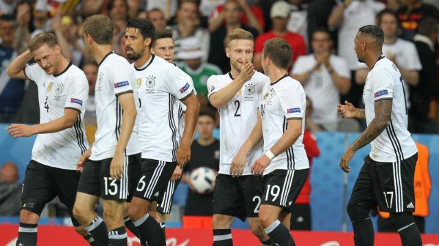 Almanlar fazla zorlanmadı