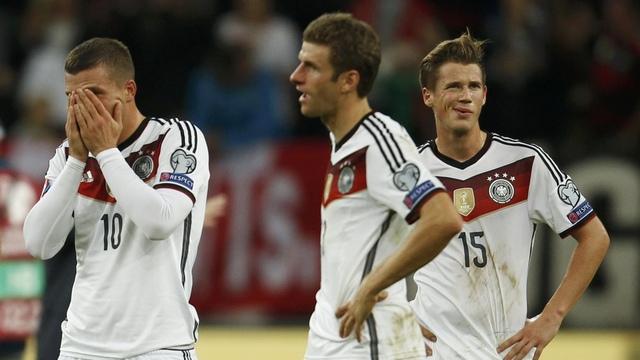Almanya'ya yine hüsran...
