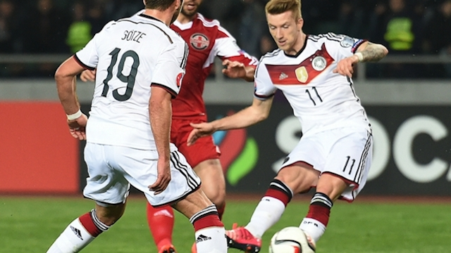 Almanya zorlanmadan kazandı