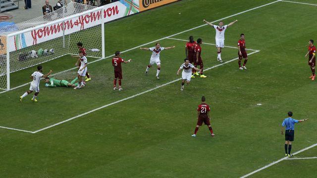 Almanya gol oldu yağdı!