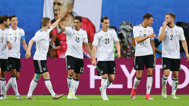 Şili oynadı, Almanlar şampiyon oldu