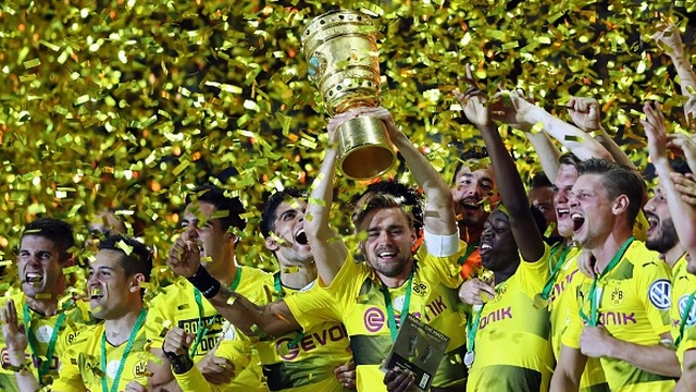 Almanya Kupası, Borussia Dortmund'un!