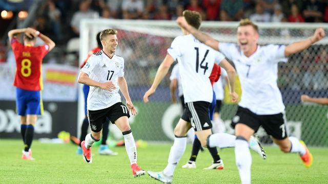 Gençlerde şampiyon Almanya!