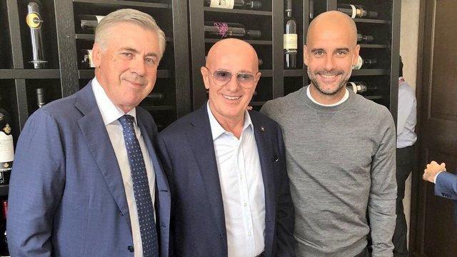 Ancelotti, Sacchi ve Guardiola buluştu