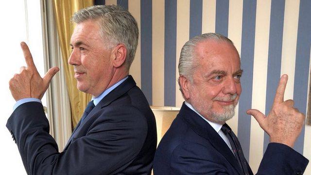 Napoli'nin yeni hocası Ancelotti!