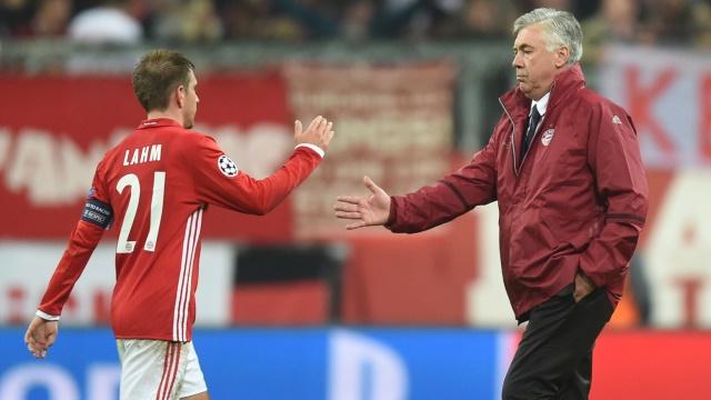 Ancelotti: Lahm'ın kararından memnun değilim
