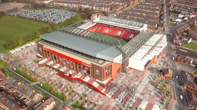 Liverpool'un mabedi büyüyor