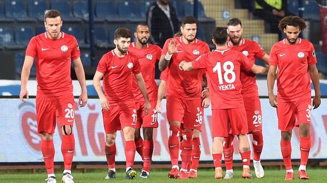 Antalyaspor, tek golle dördüncü sıraya yükseldi