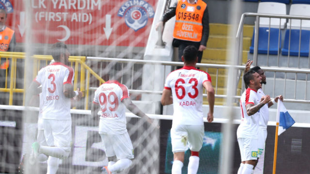 Antalyaspor 3'ledi!