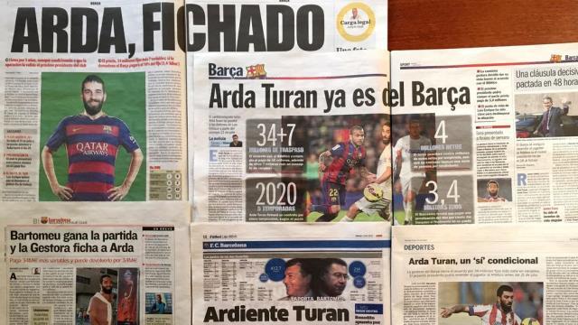 İspanya'da Arda çılgınlığı