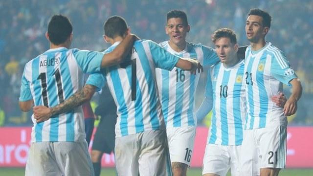 Messi şov yaptı Arjantin farklı kazandı