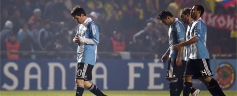 Arjantin'den Tarihi Yenilgi